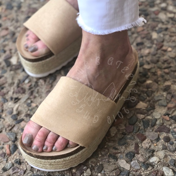 42ec4bf1c025 Pippa Slide Sandals by Dirty Laundry